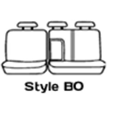 Covercraft SS8485PCGY Grey Polycotton Saver Custom Seat Covers