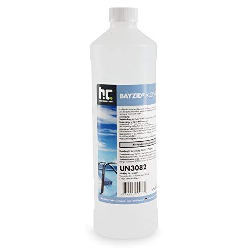 Höfer Chemie 6x1 L Pool Algenvernichter - Präventives Anti Algenmittel für Schwimmbad & Pool - gegen Algen