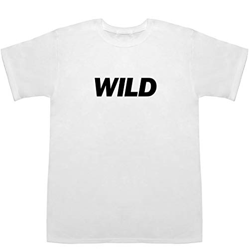 WILD ワイルド T-shirts ホワイト L【ワイルドストロベリー】【ワイルドライフ】