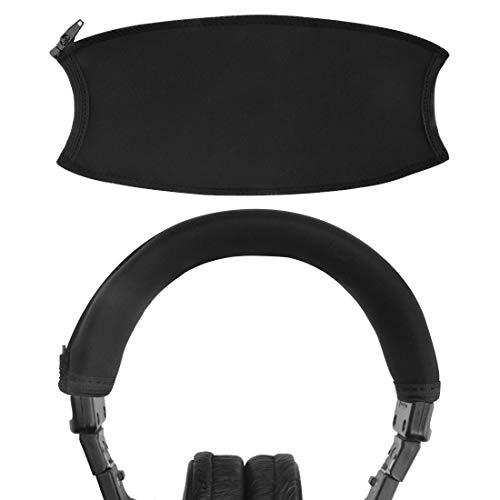 Geekria Headband Cover per Sony MDR-V6, MDR-V600, MDR-V900, MDR-Z600, MDR-7506, MDR-7509, MDR-CD900ST, MDR-NC500D Cuffie Cover per archetto di ricambio / Parti di riparazione / Facile installazione