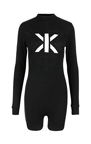 OnePiece Damen Swift Short Jumpsuit, Schwarz (Black), 40 (Herstellergröße: L) - 3
