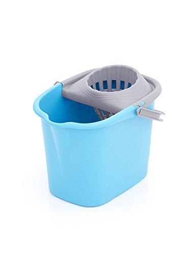 Plastiken - 6215RL CELESTE - Cubo fregona rectangular - 15 l