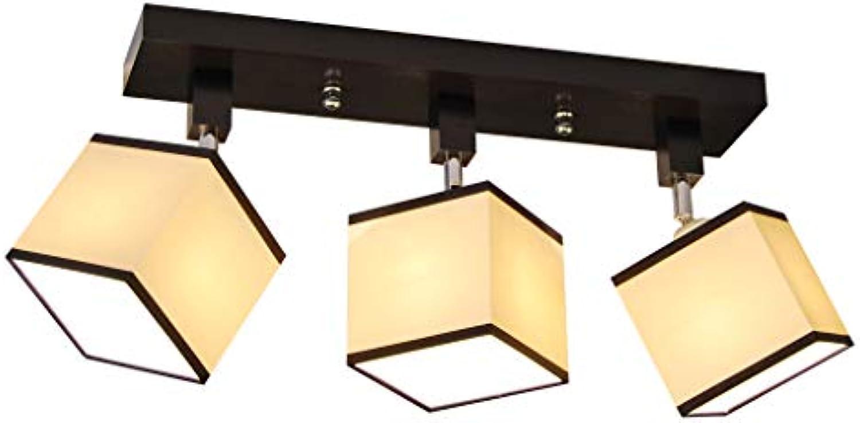 Deckenlampe - HausLeuchten LLS310DPRw, Deckenleuchte, Leuchte, Lampe, 3-flammig, Massivholz