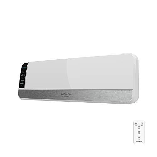 Cecotec Radiador Eléctrico Bajo Consumo Cerámico Ready Warm 5250 Swing Box Ceramic 2000W, Pantalla LED, Oscilación, IPX2, Temporizador, 3 Modos, Protección sobrecalentamiento, Mando a distancia