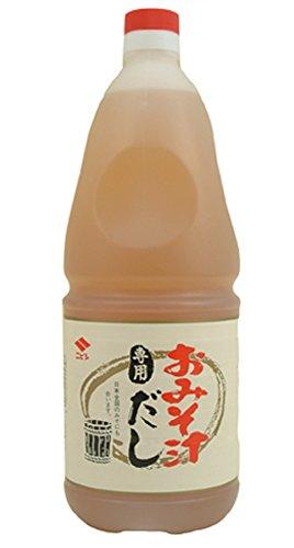 ニビシ醤油 おみそ汁専用だし 1.8L