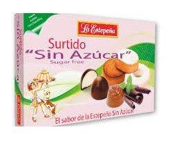 Mantecados et Chocolates surtidos sin azúcar lata 285 g