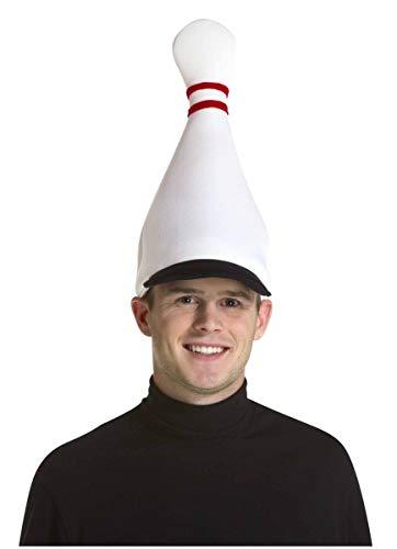 Rasta Imposta Bowling Pin Hat, White, One Size