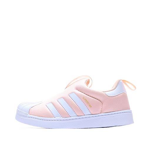 adidas Superstar 360 - Zapatillas deportivas para niño, Rosa (rosa), 25 EU