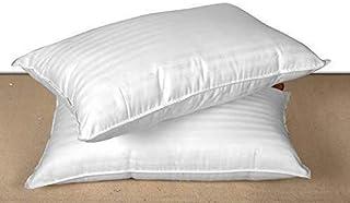 Nivedha Mattress Kapok, Silk Cotton, Semal, Ilavam Panju Pillows, Standard, White, Pack of 2