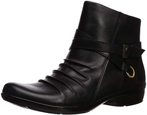 Naturalizer Women's Cycle Ankle Boot, Black, 9 M US