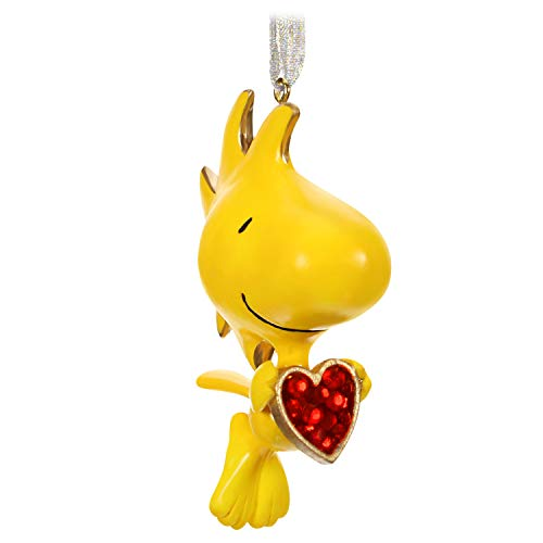 Hallmark Keepsake Christmas Ornament 2019 Year Dated The Peanuts Gang For the Love of Woodstock, Metal