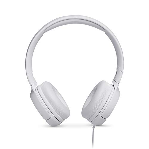 JBL TUNE 500 - Wired On-Ear Headphones - White