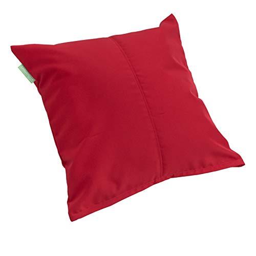 Gardenista | Outdoor Water Resistant Foam Crumb Filled 18' Garden Furniture Cushion (Red)