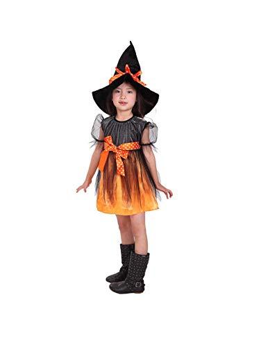 Matissa Disfraz de Bruja de Halloween para niños