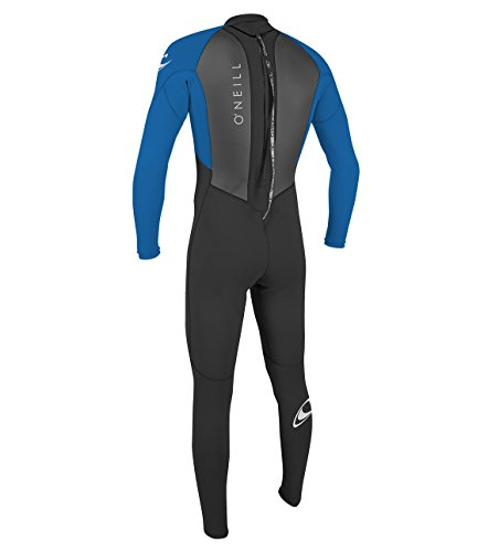 O'Neill Wetsuits Boy Reactor II Back Zip Full Wetsuit, Ocean, 14 Years