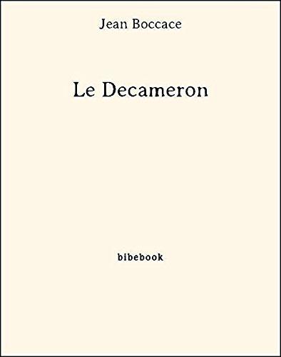 Couverture du livre Le Decameron