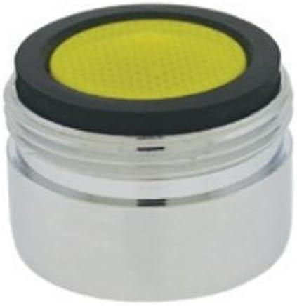 Yellow//Clear Dome 55//64-27 Threads Neoperl 11 4100 3 Standard Flow PCA Perlator HC Female Aerator Pack of 6 2.2 GPM Chrome Finish Regular Laminar 55//64-27 Threads Honeycomb
