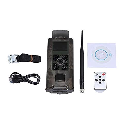 Fotocamera nascosta HC700M 2G. Telecamera del sentiero cellulare GSM MMS SMS SMTP Fotocamera 1. 6MP 1080P. Trappole fotografiche per la sorveglianza selvaggia della visione notturna .per il monitoragg