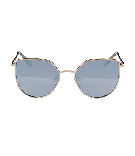 SIX Sonnenbrille mit raffinierter Form und goldglänzendem Rahmen (326-071)