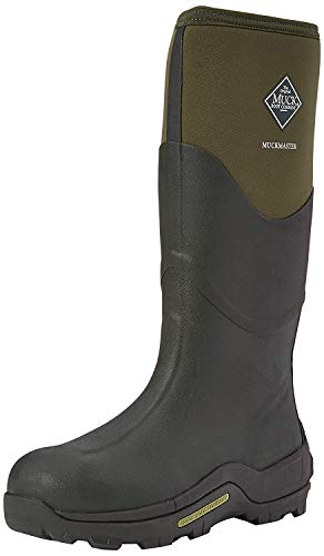 Muck Boots Unisex-Erwachsene Muckmaster High Gummistiefel, Braun (Moss/Moss), 46 EU