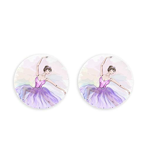 ALALAL Cute Ballerina Dancing Magneti da Cucina per Frigorifero 2 Pezzi Magneti Decorativi per Artigianato Fai da Te cap Scienza Frigo Birra Apribottiglie Nota Fissa