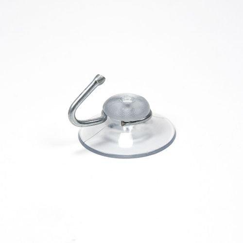Saugnapf klar 30 mm Durchmesser mit Haken, Sauger, Schilder Befestigung, Handtuchhalter, Deko, Fenster