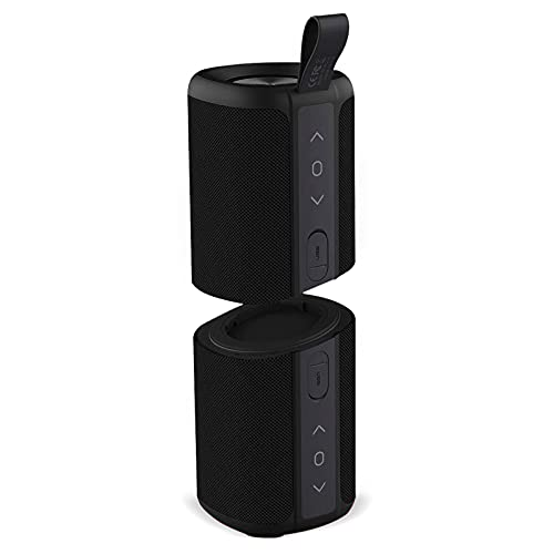 Kove Commuter 2 179-S - Bluetooth Speakers, Portable, Wireless with HD Louder Volume, Deep Bass Subwoofer, Microphone, IPX7 Waterproof - Perfect Boom Box for Home, Outdoor or Travel