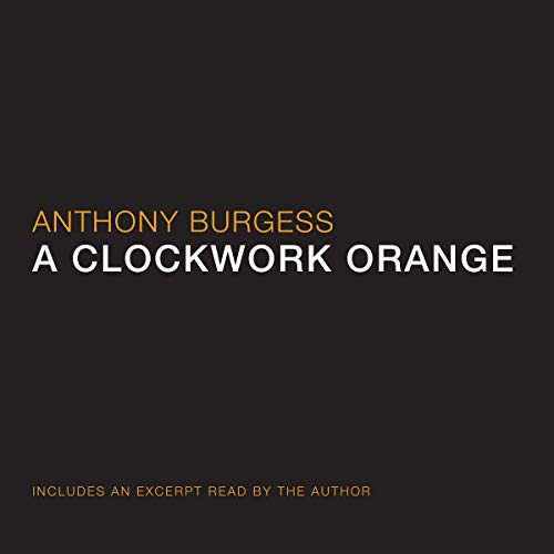 A Clockwork Orange audiobook cover art