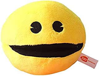 """6"""" Cute Plush Doll Yellow Smiling Face Expression Ball Pacman Stuffed Toy For Kids Baby Birthday Christmas Gift"""