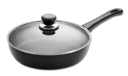 Scanpan Classic 24 cm Saute Pan with Lid, 26 cm