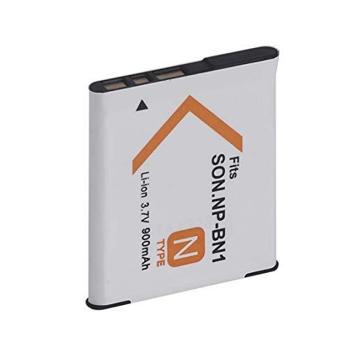 Pgige para cámara Digital Recargable con batería de Iones de Litio NP BN1 (Blanco)