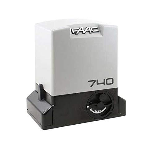 Motor reductor 230 V Safe 740 E Z16 con codificador para puertas correderas uso residencial 500 kg FAAC 1097805