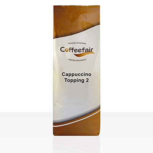 Coffeefair Cappuccino Topping II 10 x 1kg | Automatengängiges Milchpulver 1000g