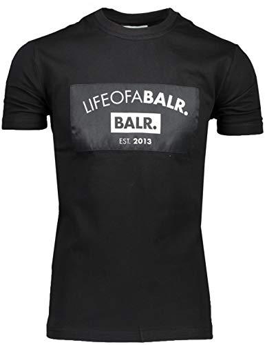 BALR. T-Shirt Schwarz - Regular Fit - 10478 (L)