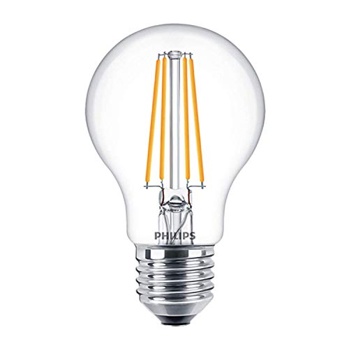 Philips 929001331202 - Bombilla LED de filamento (8 W, intensidad regulable, 2700 K, 806 lúmenes, 15000 horas)