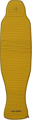 Nordisk Grip 2.5L körperkonturierte Matte Isomatte, Mustard Yellow/Black