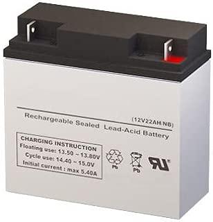 Jump N Carry JNC300XL Jump Starter Replacement Battery - 12 Volt 22AH NB Terminal by SigmasTek