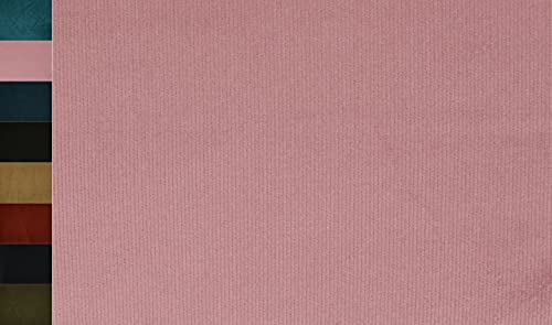 Stoffbook Tela elástica de algodón cord, E320 (rosa palo)