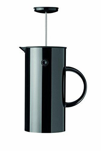 Stelton EM 1 l. -schwarz Pressfilterkanne, Kunststoff, 14 x 14 x 22 cm