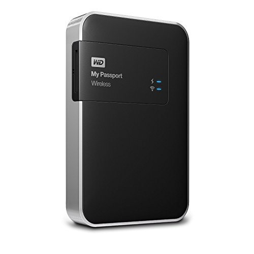 WD 1TB My Passport Wireless - Hard Disk Esterno...