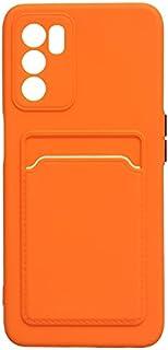 جراب خلفي لهاتف اوبو A16 - برتقالي 11