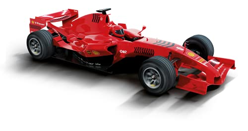 Scalextric- Compact Coche, Color Rojo (Scale Competition Xtreme 1)