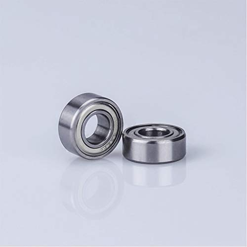 MDD 10PCS 608zz 623zz 624zz 625zz 635zz 626zz 688zz Flange Ball Bearing, For 3D Printers Parts Deep Groove Flanged Pulley Wheel (Color : 608ZZ)