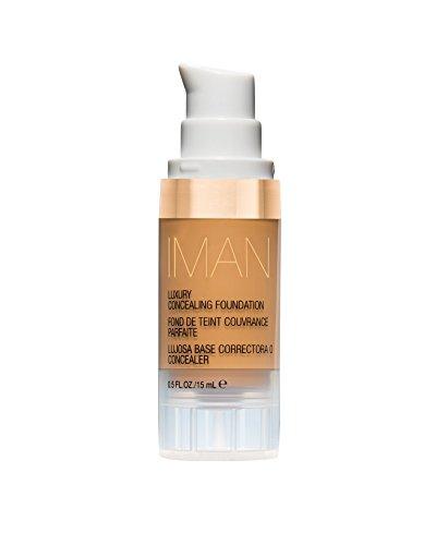 IMAN Cosmetics Concealing Foundation, Medium Skin, Clay 2