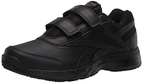 Reebok Women's Work N Cushion 4.0 KC D Walking Shoe, Black/Cold Grey/Black, 9 D US