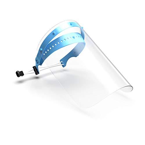 Safety Gesichtsschutzschirm, Küche Kochen, doppelseitige Anti-Fog Anti-Öl Splash klar,Schutzmaske Gesichtsschutz Visier, Augenschutz