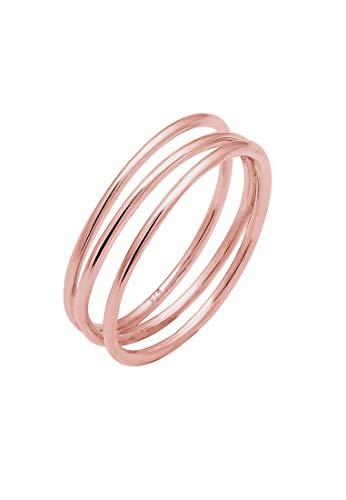 Elli Ring Damen Wickelring Filigran in 925 Sterling Silber