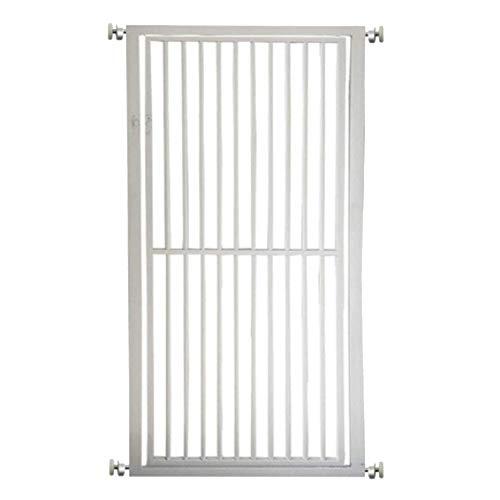 Bettgitter RQ Kinderschutz-Sicherheitstür, kostenlose Installation, Pet Isolation Tür, 75-140 x 80 cm, Weiß (Size : 134-140cm)