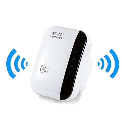 xingfandian WiFi Booster Extensión De Alcance, Inalámbrica De 2,4 GHz A 300 Mbps WiFi Extender Booster con Ap/Modo Repetidor, WiFi Amplificador De Señal con WPS Cifrado Y Compacto Plug Diseño