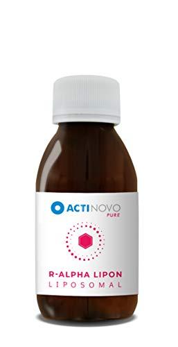 Liposomale R-Alpha-Liponsäure + Vitamin C | hochdosiert | 100 ml | Tagesdosis 100 mg Alpha-Liponsäure | hohe Bioverfügbarkeit | flüssig | ohne Zusätze | vegan